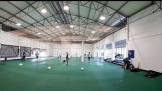 India forced to practice indoors in Cape Town