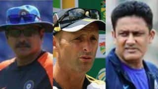 Not Ravi Shastri,Gary Kirsten and Anil Kumble are India's Most Successful Coach