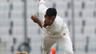 अफगानिस्तान के खिलाफ टेस्ट मैच के लिए बांग्लादेश ने मुस्ताफिजुर को दिया आराम