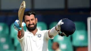 Cheteshwar Pujara shares special message for wife after successful 50th Test