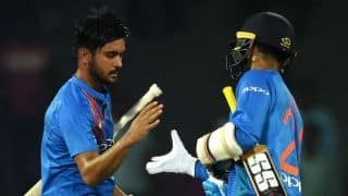Manish Pandey, Dinesh Karthik guide India to victory over Sri Lanka in 4th T20I, Nidahas Trophy 2018