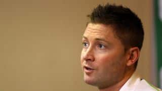 Michael Clarke makes an impressive debut in commentary box