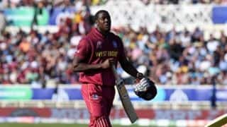 Cricket World Cup 2019: Carlos Brathwaite reprimanded for showing dissent