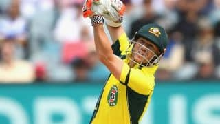 David Warner's 160* revives Australia in 3rd ODI vs New Zealand