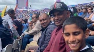 Banned by ICC, Sanath Jayasuriya watches India-Sri Lanka match from the stands at Headingley