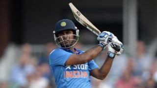 Ambati Rayudu is miffed after falling victim to umpiring howler