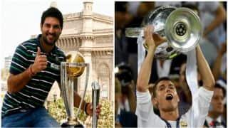 Yuvraj Singh, Carlos Brathwaite congratulate Cristiano Ronaldo