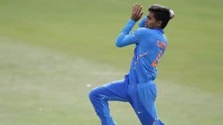 Under 19 World Cup: Hat-Trick For Kartik Tyagi as India Hammer Afghanistan by 211 Runs in Warm-Up
