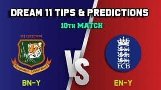Dream11 Team Bangladesh U19 vs England U19, Match 10, U-19 Tri-series– Cricket Prediction Tips For Today's match BN-Y vs EN-Y at Beckenham