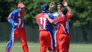Jersey beat Oman by 44 runs to clinch Division Five title