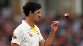 Mitchell Starc takes six wickets against South Africa in a losing cause