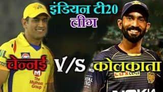 Match Update: रैना के अर्धशतक से चेन्नई ने कोलकाता को 5 विकेट से हराया