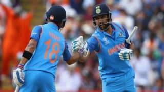 टी-20 में कोई टीम नहीं होती फेवरेट, कमजोर टीम भी बड़ी टीम को हराने का रखती है दम: रोहित शर्मा