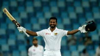 SL end Day 1 on top riding on Karunaratne's hundred against PAK, 2nd Test