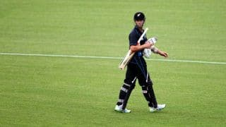 India tour of New Zealand 2014, 3rd ODI at Auckland: Williamson falls for 65, Anderson goes early