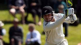 India vs New Zealand, 1st Test, Day 1: Brendon McCullum holds fort for hosts