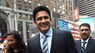 Kumble to follow Wright, Kirsten's low-profile approach