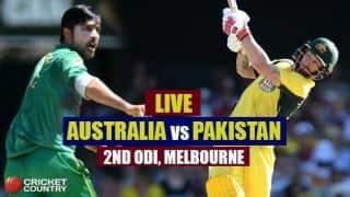 Live Cricket Score Pakistan vs Australia, 2nd ODI at Melbourne: PAK win by 6 wickets