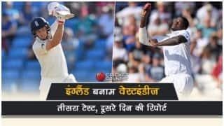 लॉर्ड्स टेस्ट में इंग्लैंड फ्रंटफुट पर, वेस्टइंडीज की दूसरी पारी का स्कोर-93/3