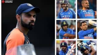 Is this the best Indian batting order for the World Cup?