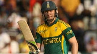 AB de Villiers delighted with South Africa's victory in Zimbabwe Triangular Series 2014