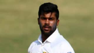 SA Invitation XI vs Sri Lanka: Lahiru Kumara claims 3 wickets on Day 2