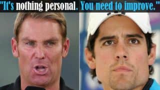 Shane Warne: My comments on Alastair Cook have never been personal