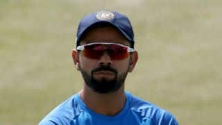 Kohli receives Padma Shri Award from President Pranab Mukherjee