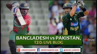 Live Cricket Score, Bangladesh vs Pakistan 2015, one-off T20 at Dhaka, Bangladesh 143/3 in 16.2 Overs: Bangladesh win by 7 wickets