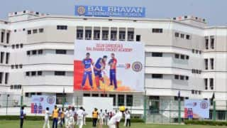 PHOTOS: Delhi Daredevils Bal Bhavan International School Academy opening ceremony