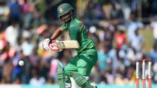 Tamim Iqbal's hundred and fifties from Sabbir Rahman, Shakib Al Hasan power Bangladesh to 324 for 5 against Sri Lanka in 1st ODI
