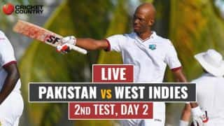 Live Cricket Score, Pakistan vs West Indies, 2nd Test, Day 2: Stumps