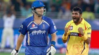 Ravindra Jadeja's all-round show helps Chennai Super Kings trump Rajasthan Royals by 7 runs in IPL 2014 tie