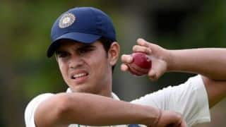 Video: Arjun Tendulkar bowls a 'jaffa', takes a 'stunning wicket' for MCC Young Cricketers