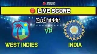India vs West Indies live cricket score and ball by ball commentary, 2nd Test, Day 4: India beat West Indies by 257 runs to capture series 2-0