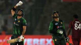 आखिरी टी-20 मैच में वेस्टइंडीज को आठ विकेट से हरा पाकिस्तान ने क्लीन स्वीप की सीरीज