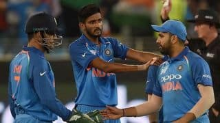 Asia Cup: Dhawan, spinners help India overcome spirited Hong Kong
