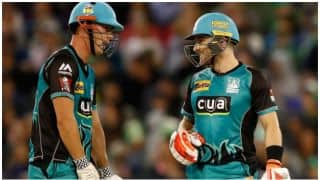 Big Bash League, 2017-18: Brendon McCullum, Chris Lynn fifties give Brisbane Heat 9-wicket win over Melbourne Stars