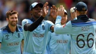 Cricket World Cup 2019: ENG vs AUS: Unchanged England opt to bowl against Australia; Lyon, Behrendorff in for Aus