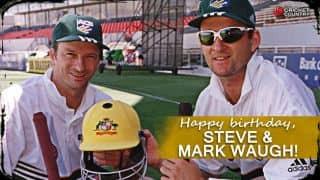 Steve Waugh and Mark Waugh turn 50