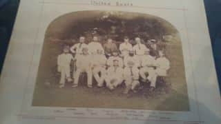 Treasures from the archives at the Sussex Cricket Museum