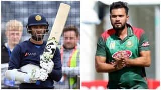 BAN vs SL, Match 16, Cricket World Cup 2019, LIVE streaming: Teams, time in IST and where to watch on TV and online in India