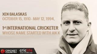 Xen Balaskas: Leg-spinner of Greek origins who bowled SA to their first Test win in ENG