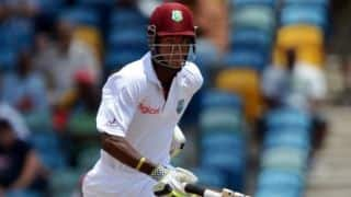 West Indies make slow start after being put in by Bangladesh