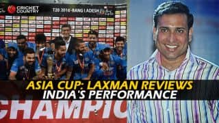 VVS Laxman: Asia Cup 2016 was an absorbing contest