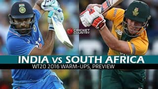 India vs South Africa, ICC World T20 2016 warm-up match at Mumbai: Preview