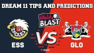 Dream11 Team Essex vs Surrey South Group VITALITY T20 BLAST ENGLISH T20 BLAST – Cricket Prediction Tips For Today's T20 Match ESS vs GLO at Bristol
