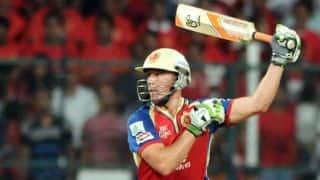 एबी डिविलियर्स ने खेली तूफानी पारी, किंग्स इलेवन पंजाब को 149 रनों का लक्ष्य