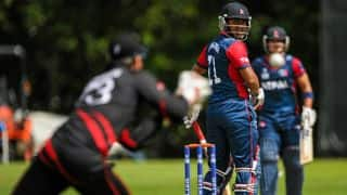 Live Cricket Score, Nepal vs Hong Kong, ICC World Cup Qualifiers 2018, Match 19: Nepal win; Afghanistan qualify