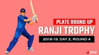 Ranji Trophy 2018-19, Round 4, Day 2, Plate: Gurinder Singh's five-for take Meghalaya close to victory against Manipur